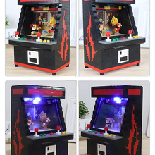 Toy Game-Model Building-Blocks CATCHER Fighter Mini Clasic Kid Doll Ufo-Clip Brinquedos
