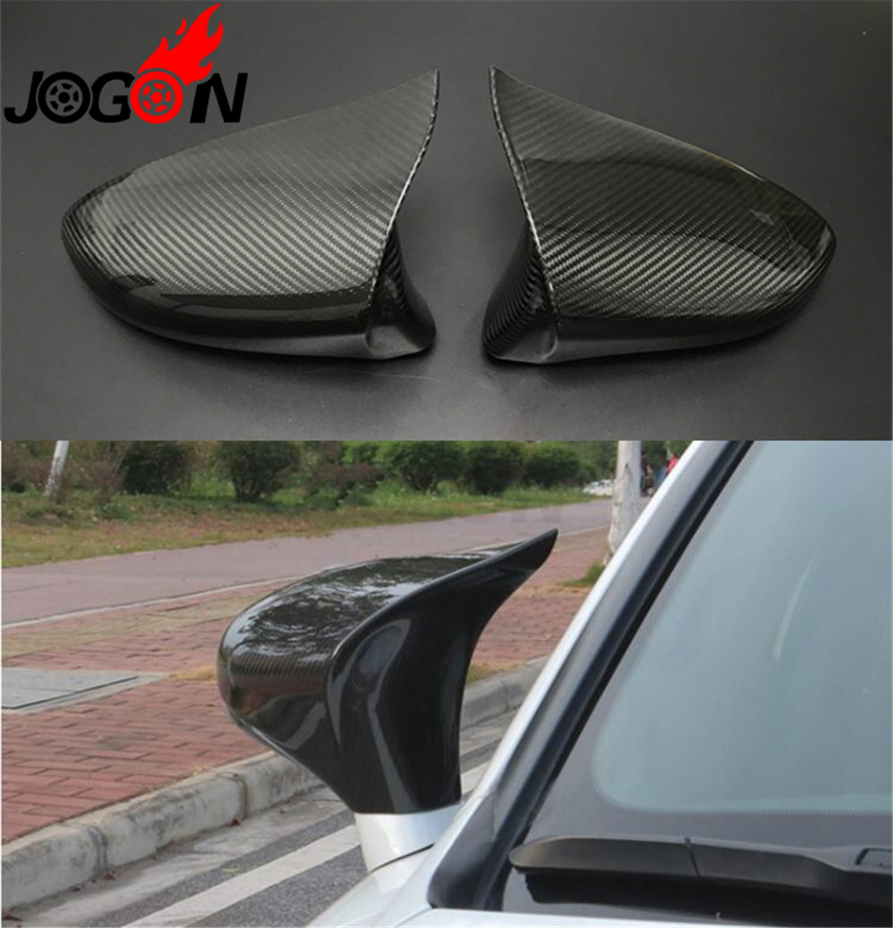 LHD Carbon Fiber Made Car Side Rear View Mirror Cap Shell Cover Trim For Lexus IS200 250 <font><b>300</b></font> RC 200 <font><b>300</b></font> 350 RC F SPORT image