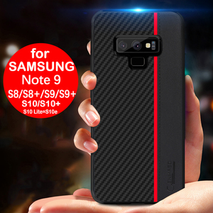 Image 2 - For Samsung Note 9 10 Plus 20 Ultra Case Carbon Fiber Protection Case For Samsung Galaxy S20 S8 S9 S10 5G Plus S10e A51 A71 Case
