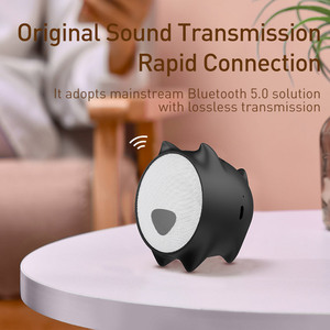 Image 4 - Baseus Portable Bluetooth Speaker Better Bass Colorful Animal Model Waterproof Stereo Sound Mini Speaker For Home & Car