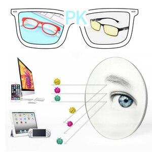 Image 4 - 2020 blau Licht Gläser Kinder Mode Junge Mädchen Blocking Computer Klar Transparent Brillen Optische TR90 Rahmen UV400