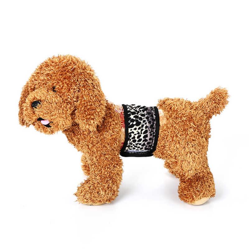 Sous-vêtements combinaison culotte chien physiologique pantalon Menstruation chiens sanitaires mâle doux Durable coton ventre bandes béables
