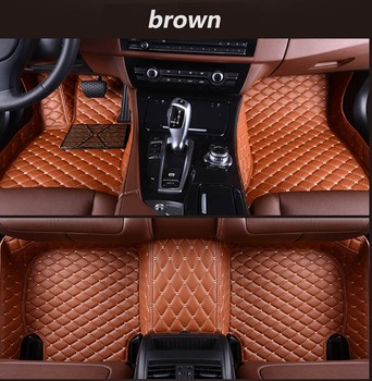 mili Custom car floor mats for BMW all models X3 X1 X4 X5 X6 Z4 f30 f10 f11 f25 f15 f34 e46 e90 e60 e84 e83 e70 e53 g30 e34 image