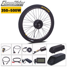 Chamrider ebike Electric Bike Kit 350W 500W 36V 48V 17AH Hailong Battery MXUS LCD3 display Julet Waterproof Connector Plug