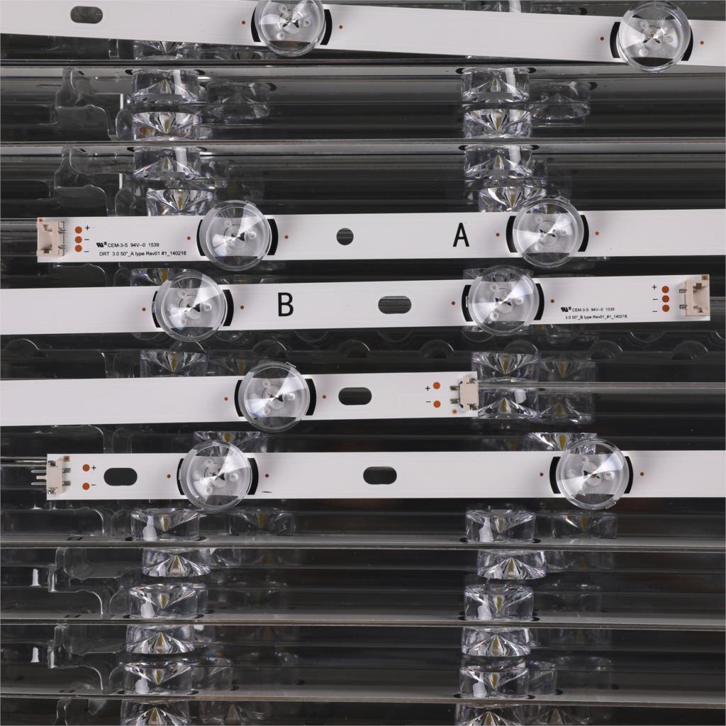 (New Original)10 PCS/set LED strip for LG 50LB650V 50LF6000 INNOTEK DRT 3.0 50 inch A B 6916L-1982A 1983A 6916L-1781A 1782A