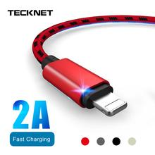 TeckNet Charger Cable Micro Usb Cable For iphone USB Type C Fast Charging Adapter Charger Wire For Samsung Huawei Xiaomi Cord стоимость