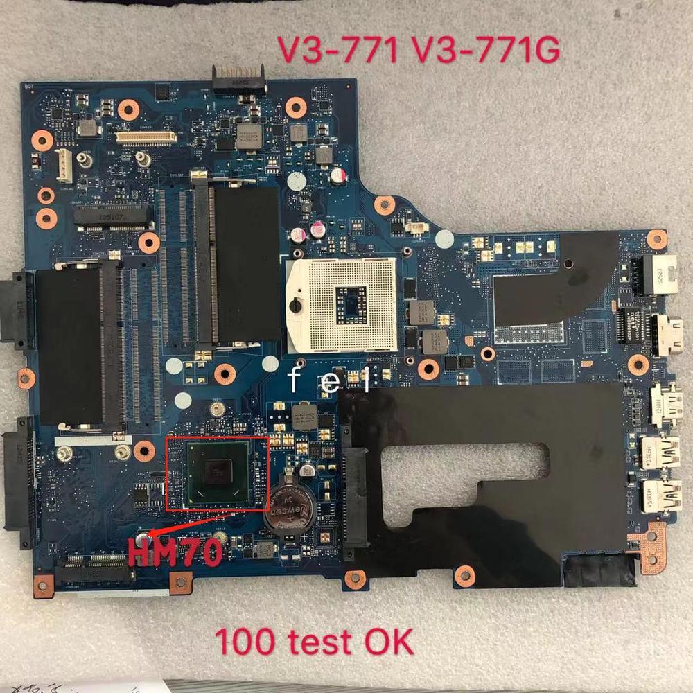 For Acer Aspire V3-771 V3-771G Laptop Motherboard Notebook Pc NB. RYR11.001 NBRYR11001 VA70/VG70 E1-771 69N0VM11A01 PGA989 DDR3
