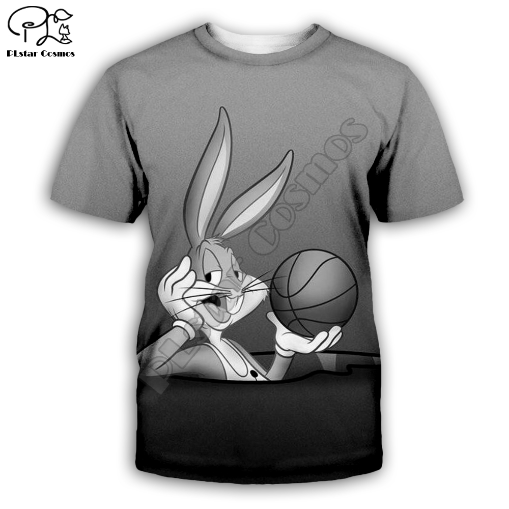 PLstar Cosmos Bugs Bunny casual cartoon Harajuku 3D Printed Hoodie Sweatshirt Jacket shirts Men Women hiphop funny fit style 1 in Hoodies amp Sweatshirts from Men 39 s Clothing