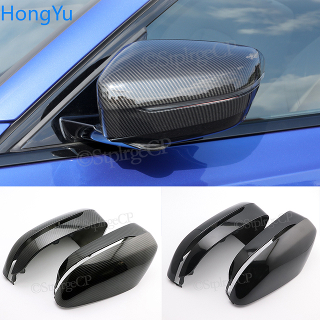 2Pcs Car Bright Black Side Rear View Mirror Cover Replacement For BMW 3 5 6 7 Series G20 G30 G38 G11 G12 GT G32 2016   2020