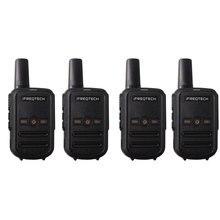 4PCs AP102 Portable שתי דרך רדיו המניה ברוסיה מיני גודל 5W מכשיר קשר ארוך טווח עם VOX CTCSS/DCS קודים