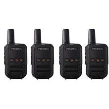 4PCs AP102 휴대용 양방향 라디오 재고 러시아 VOX CTCSS/DCS 코드와 미니 크기 5W 워키 토키 장거리