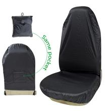 Waterproof Universal Vehicle Car Front Seat Cover Styling Self-accommodating Dustproof Protector Pet