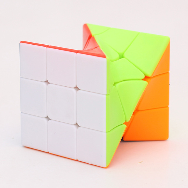 Z-Cube 3x3x3 Neo Torsion Twist magic cube puzzle Zcube 3x3x3 Intelligence Twisted Educational Cool Toys 3