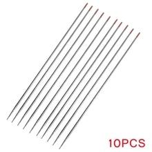 5/10Pcs Jewelry Spot Welding Tungsten Needle Welding Rod Tungsten Electrode Head For Jewelry Welding Machine Tools 15cm/5.9inch