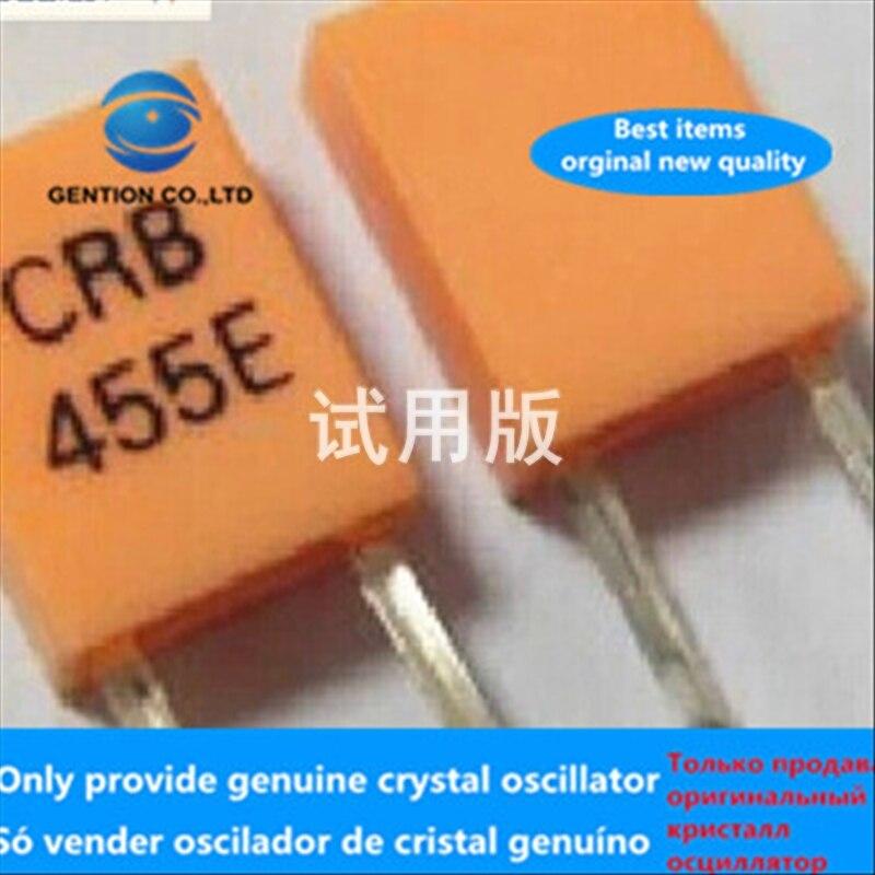 50pcs 100% Orginal New Inline Filter CRB455e 455E 2-pin DIP-2 455KHZ