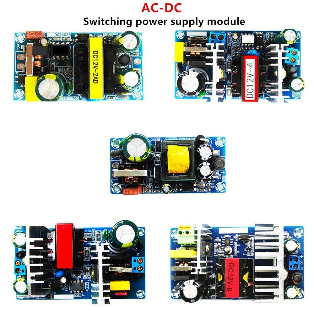 Плата импульсного источника питания переменного тока в постоянный ток, модуль питания, защита от перенапряжения, перегрузки по току, 12 В/1 А, ...
