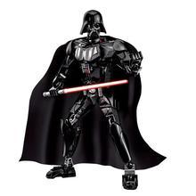 цена 17 Style New Star Wars Darth Maul Jango K-2SO Darth Vader Grievous Figure Building Blocks Toys For children онлайн в 2017 году