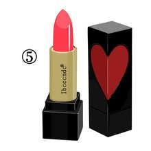 Heart-Shaped Lipstick Solid Lip Gloss Four-Color Optional Makeup Lipstick Add Co