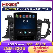 MEKEDE Tesla Style Car Radio For Kia Optima 3 K5 2011 2012 2013 2014 Car Radio Multimedia Video Player GPS No 2din Android DVD