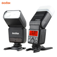 Godox Thinklite TT350C Mini 2.4G Wireless TTL Camera Flash Master & Slave Speedlite 1/8000s HSS for Canon 5D MarkIII 80D 7D 760D