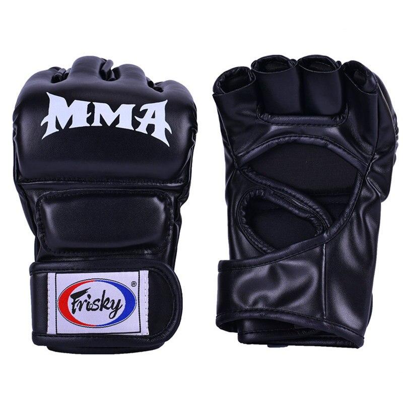 Frisky Boxing Gloves Men And Women Half Finger UFC Sanda Boxing MMA Playing Sandbags Training Refers Boxing Gloves