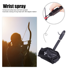 Support Aid Auxiliary Accessory Hunting Archery Caliper Release Compound Bow Wristband Shooting Arrow Bow Strap