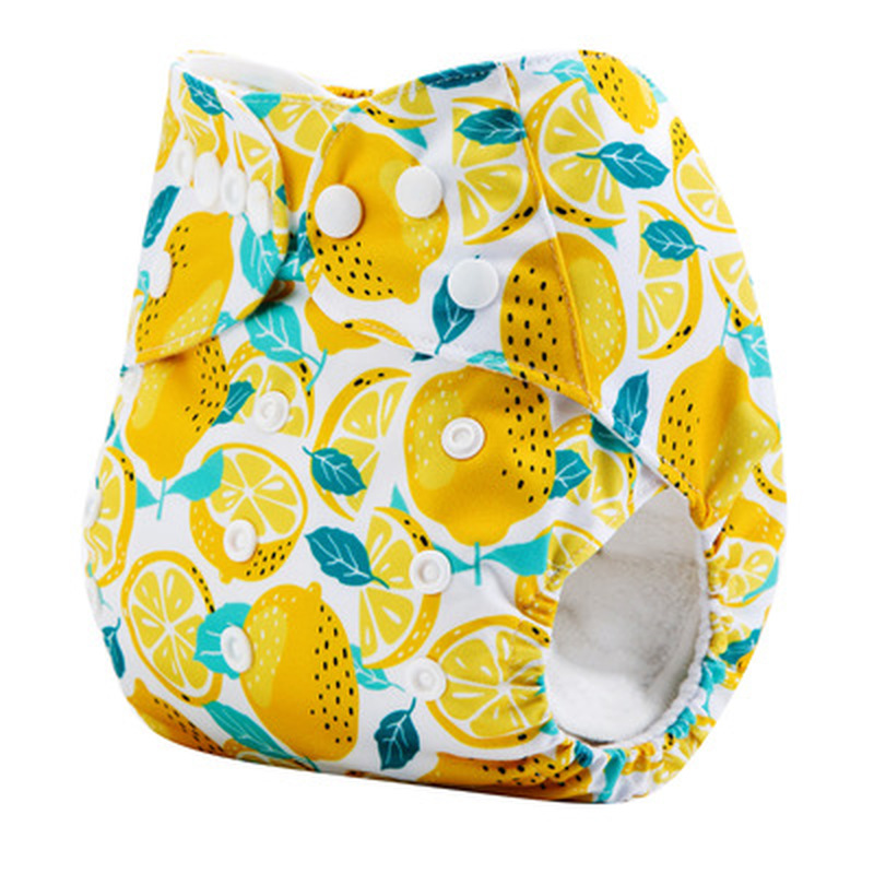 Baby Cloth Diapers Eco-friendly Diaper Cover Wrap Baby Training Pants Travel Alvababy Pants Washable Reusable Fit 3-15 Kg