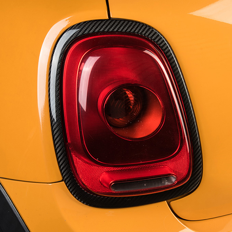 Автомобильная фара из углеродного волокна декоративная рамка Taillght наклейка для BMW MINI Cooper S F54 F55 F56 F57 F60 аксессуары для стайлинга автомобилей - 2