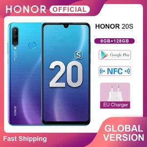 Новая глобальная версия Honor 20 S 20 S мобильные телефоны 6 ГБ 128 ГБ 6,15