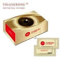 1box=50pcs YIGANERJING Anti aging Eye Cream Ageless Eye Cream Serum Instantly Puffiness Wrinkle Remove Cream крем instantly ageless купить