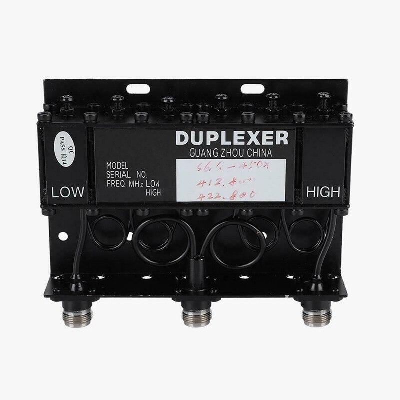 10W UHF 6 Cavity Duplexer SGQ-450X Type (TX; 412.800 RX; 422.800)