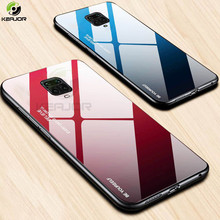 Hard Case For Xiaomi Redmi Note 9S Case Luxury Gradient Glas