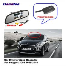цена Liandlee Car Road Record WiFi DVR Dash Camera Driving Video Recorder For Peugeot 3008 4008 II  2015-2018 онлайн в 2017 году