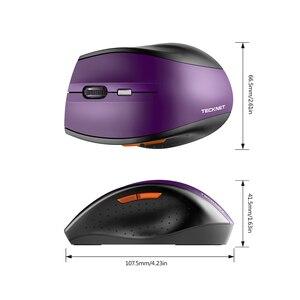 Image 5 - TeckNet classique souris sans fil 2.4GHz Portable optique USB Nano récepteur souris ordinateur PC 6 boutons 2400 DPI 5 niveaux de réglage