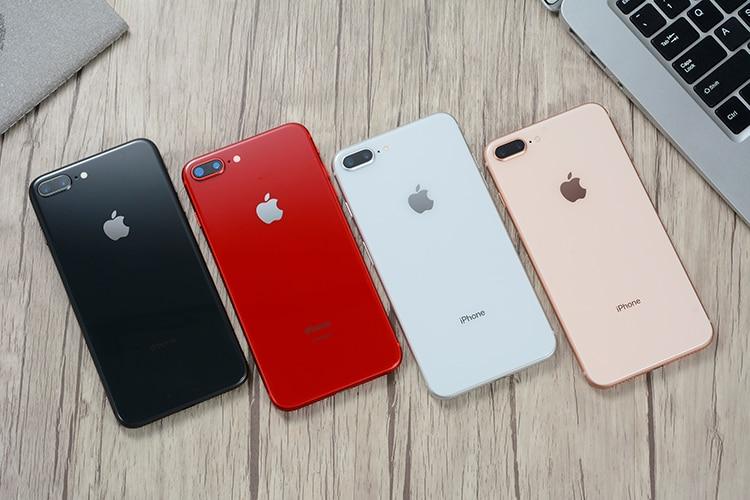 Original apple iphone 8 plus hexa núcleo ios 3gb ram 64-256gb rom 5.5 polegada 12mp impressão digital 2691mah lte telefone móvel 3