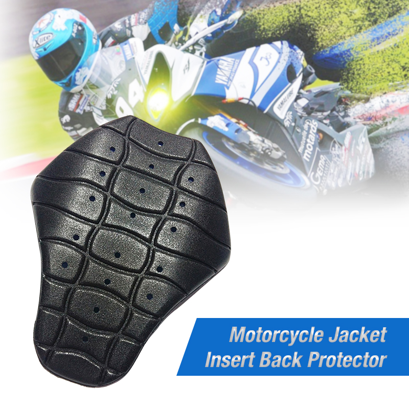 Motorcycle Jacket Insert Back Protector Motorbike Back Protector Insert For Motocross Pillows Race Jacket Motorcycle Accessories