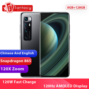 New Chinese Version Xiaomi Mi 10 Ultra 8GB RAM 128GB ROM Smartphone Snapdragon 865 Octa Core 48MP 120X Zoom Camera 120Hz Display