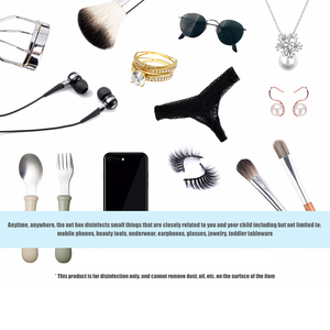 Image 5 - UV Sterilizer Box Portable Mask UV Sterilizer Disinfectant box Cabinet Gloves Cleaner Mobile Double Ultraviolet Phone box
