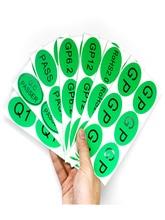 200шт ГП печатных самоклеящиеся наклейки европейская норма делу этикетки на заказ окружающая среда зеленая наклейка