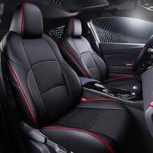 Auto Zitkussen Covers Leather Cover Voorste Rij + Achter Rij Auto Styling Voor Toyota C HR Chr