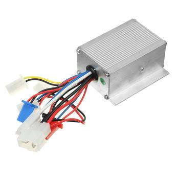 24V/36V/48V 250/350/500W Electric Bicycle Accessories Brushed DC Motor Controller For Electric Bicycle E-bike Scooter Accessorie image