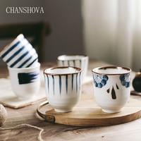 CHANSHOVA 35/200 мл Традиционный китайский стиль расписанные вручную керамические чашки фарфоровые маленькие и большие кофейные чашки H291