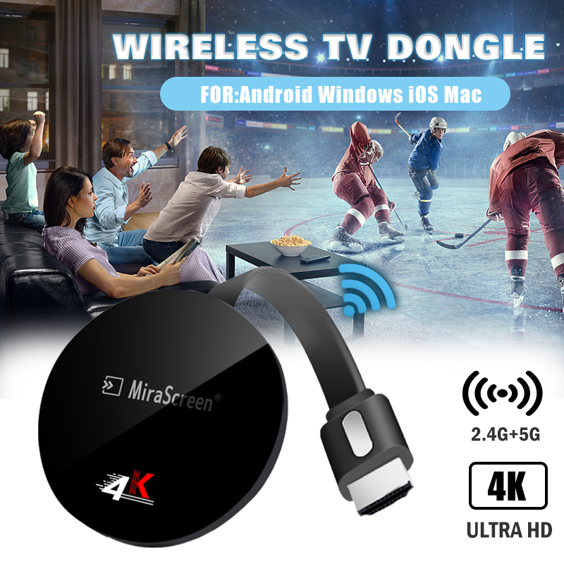 TV STICK 4k anycast fire for airplay plus for netflix for android for google for chromecast for hdmi wifi for cromecast wireless image