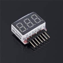 цена на 1pc 1S-6S LED Low Voltage Buzzer Alarm Lipo Battery Indicator Checker Tester New Hot!
