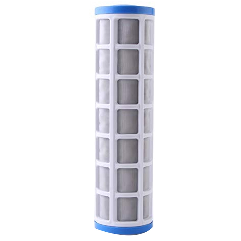 10 Inch Stainless Steel Wire Mesh Filter Cartridge Water Purifier Pre Filter For Scale Prevention