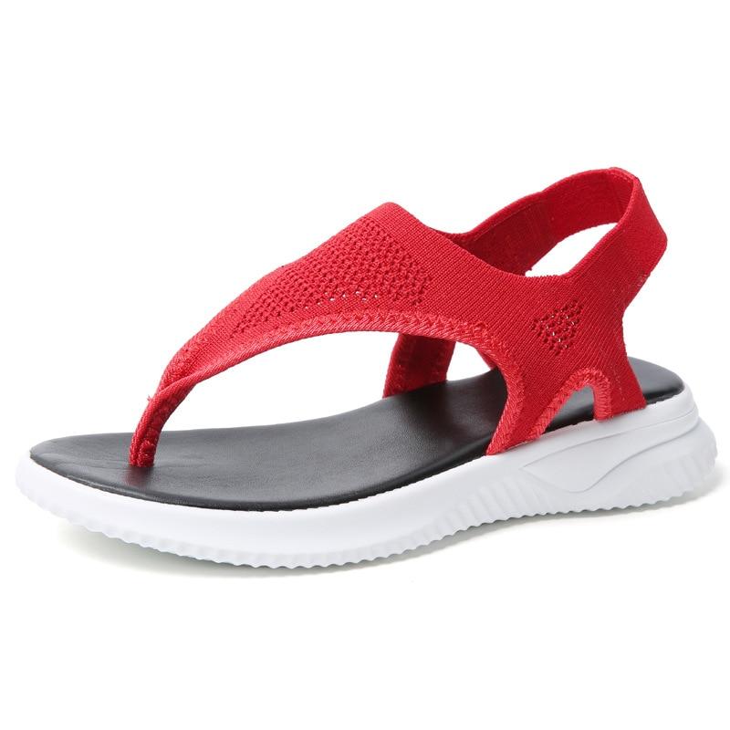 2020 New Women Sandals Female Shoes Woman Summer Wedge Comfortable Sandals Ladies Slip-on Sandals Women Sandalias