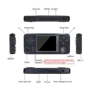 Image 4 - GAMEPZZY RS97 Ретро игровая консоль оптическая система 64bit 3,0 дюймов портативный игровой плеер 360 градусов контроллер