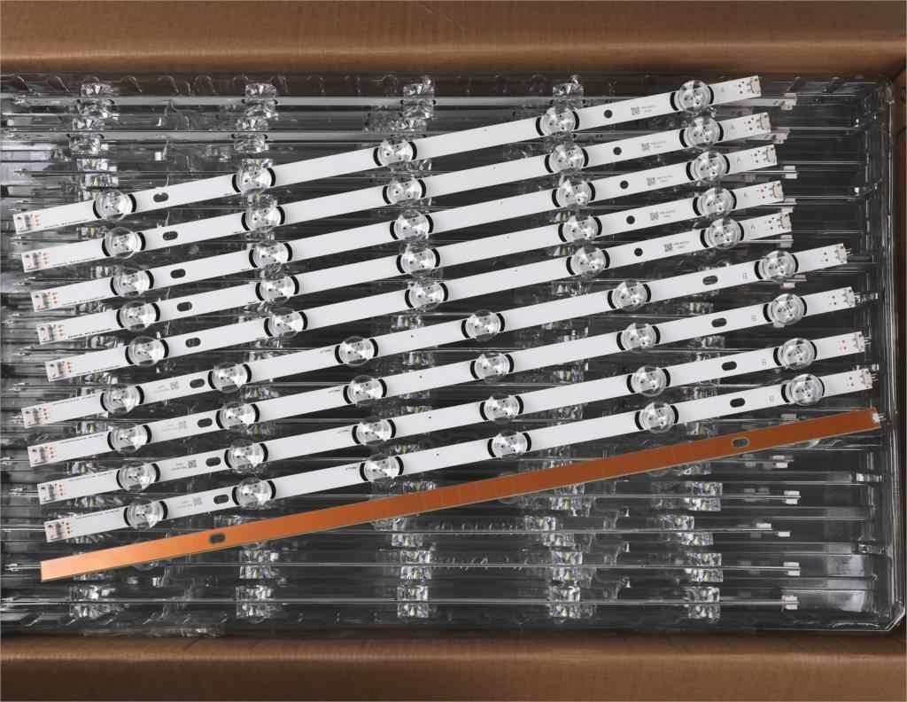 """Tira LED para LG Innotek DRT 3,0 55 """", tipo A/B Rev01 55LB561V 55LB652T LC550DUE LG55LF5950 55LY320C 55LB5700 55LF6500 55lb2v"""