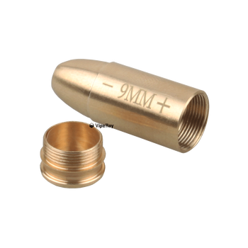 Vector Optics RED LASER BORE SIGHT  Brass Boresight CAL Cartridge Bore Sighter For Scope Hunting Adjustment .223 7.62 9MM .308 3