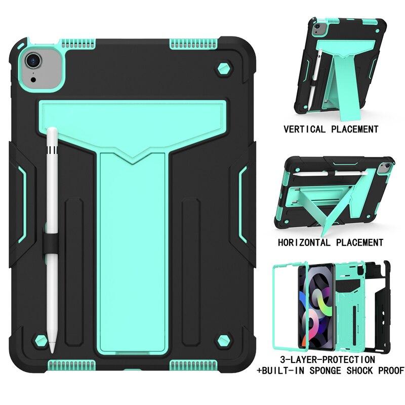 Black Aqua Pink Shock Proof Case For iPad pro 11 2020 A2228 A2231 A2068 A2230 11 inch Heavy Duty